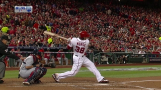 Morse hits a two-run shot