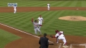 Gio throws out Kozma