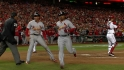 Cards' four-run ninth