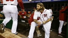 One strike away, Nationals fall after Cards rally