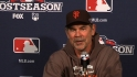 Bochy on Cards' comeback