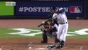 Jeter's 200th postseason hit
