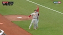 Freese's tough catch