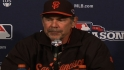 Bochy on Bumgarner's early exit