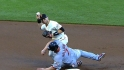 Giants on Holliday's slide