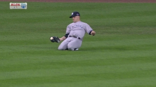 Gardner makes a great catch