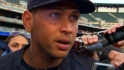 A-Rod on not being in lineup
