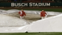 Bochy on Game 3 rain delay