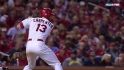 Carpenter&#039;s fifth-inning double