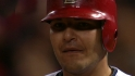 Molina's two-hit game