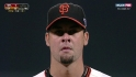 Vogelsong's career-high ninth K