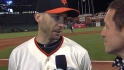 Scutaro on his hitting in NLCS