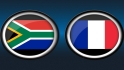 South Africa 5, France 2