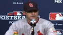 Matheny reacts to Game 6 loss