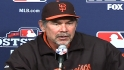 Bochy on Vogelsong&#039;s big start