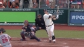 Cain&#039;s RBI single