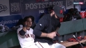 Wilson shakes it up in dugout