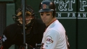 Scutaro's three hits