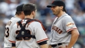 Bochy on informing Zito of start