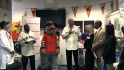 MLB visits community hospital