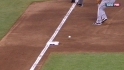Pagan doubles off bag