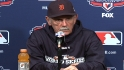 Leyland on Game 1 loss