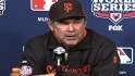 Bochy on Sandoval, Game 1 win