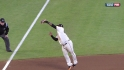 Sandoval's leaping catch