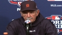 Leyland reacts to Game 2 loss