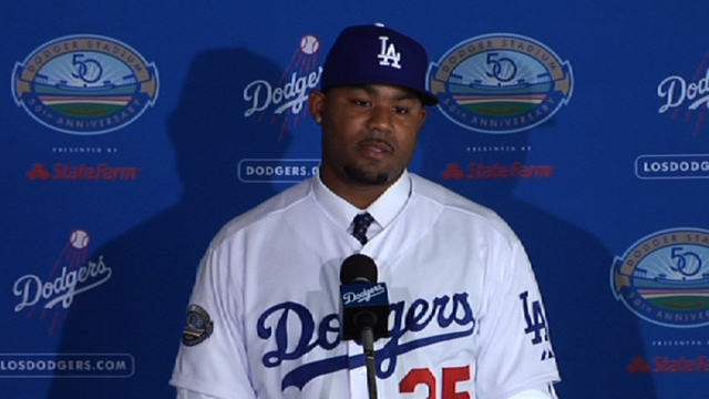Dodgers counting on healthy Crawford in 2013