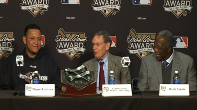 Voting underway for Hank Aaron Award