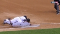Fielder&#039;s footwork saves Miggy