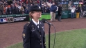 Staff Sgt. sings during stretch