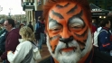 Tigers fans suit up
