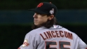Giants on Lincecum&#039;s performance