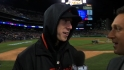 Lincecum on his relief work