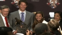 Kershaw discusses Clemente Award