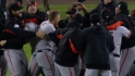 Giants on World Series win