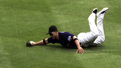 CarGo awarded Gold Glove for NL left fielders