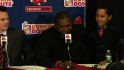 Ortiz jokes about son's contract