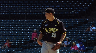 Ferocity on mound one of Driver's strengths