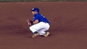 Rojo's diving catch