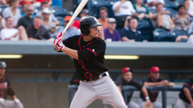 Flashes of Marisnick's potential shine through