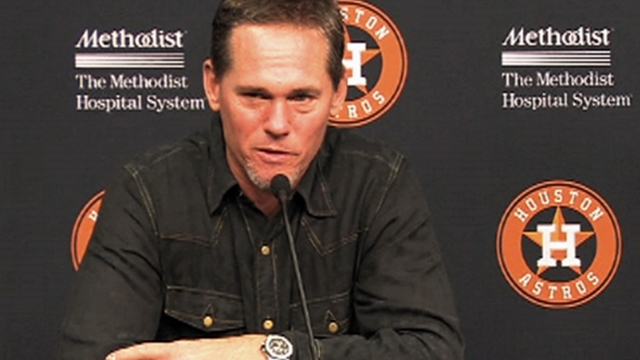 Biggio hopes to get call in first time on HOF ballot
