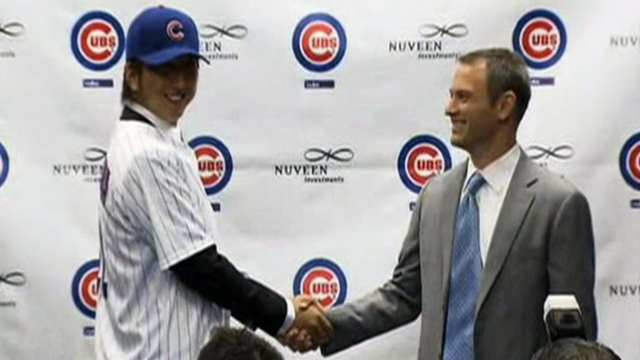 Fujikawa's transition begins as Cubs report to camp