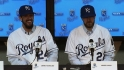 Shields and Davis meet the media