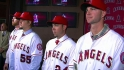 Angels introduce four pitchers