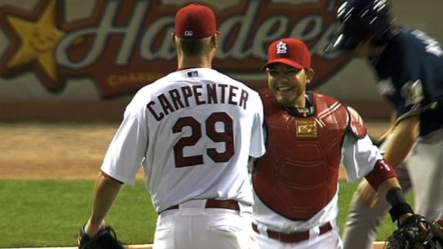 Carpenter, Garcia looking ahead to spring tests