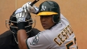 A's outfielders look to improve