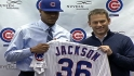 Cubs introduce Edwin Jackson